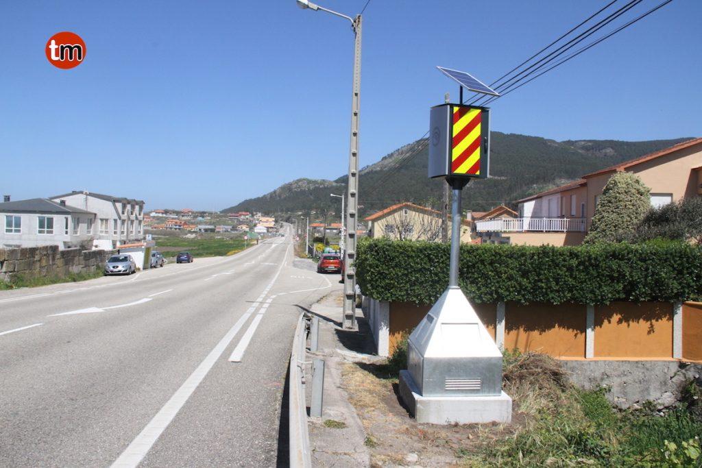 Tráfico instala un radar fijo en Mougás