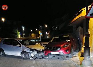 Da positivo tras provocar un accidente de tráfico en Nigrán