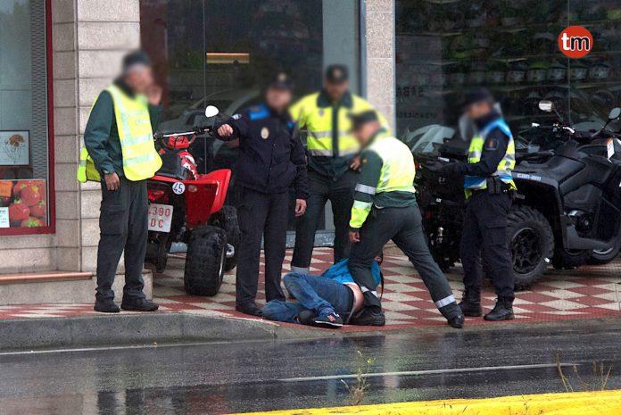 Detenido un conductor ebrio tras causar el pánico en Baiona