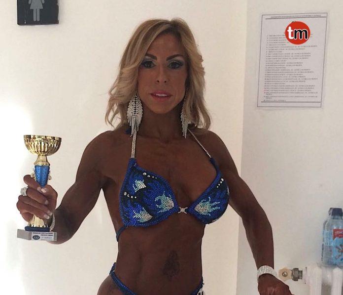 La tomiñesa Laura Verdes, bronce en el campeonato del norte de España de fisicoculturismo