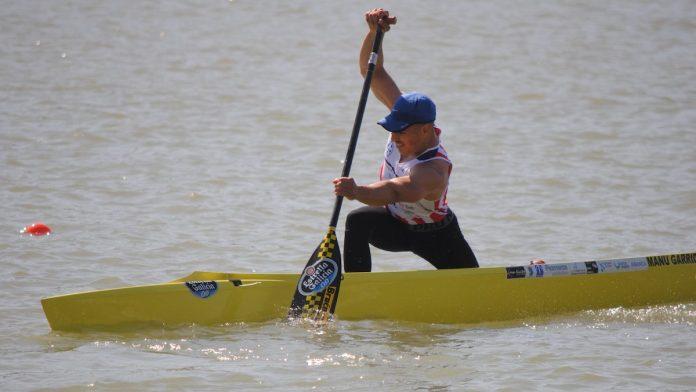 Manu Garrido, del Kayak Tudense