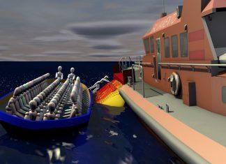 Una empresa de Vincios idea un sistema para salvar la vida de los inmigrantes que llegan en pateras