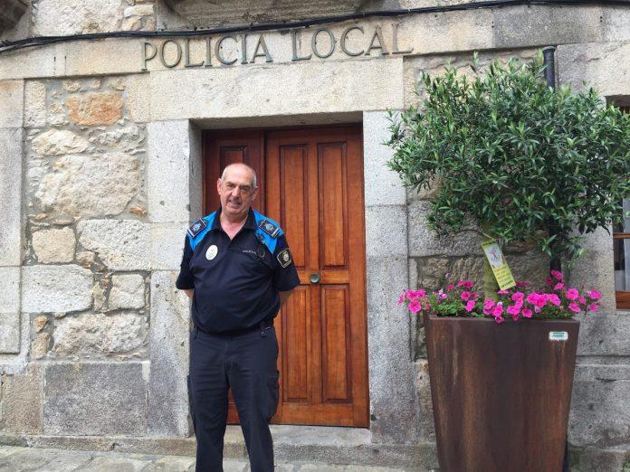 El jefe de la Policía Local de A Guarda, Antonio Taboada, se jubila tras 37 años de servicio