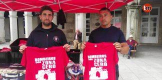 Los Bomberos de O Baixo Miño inician una campaña solidaria para los afectados de la tragedia de Paramos