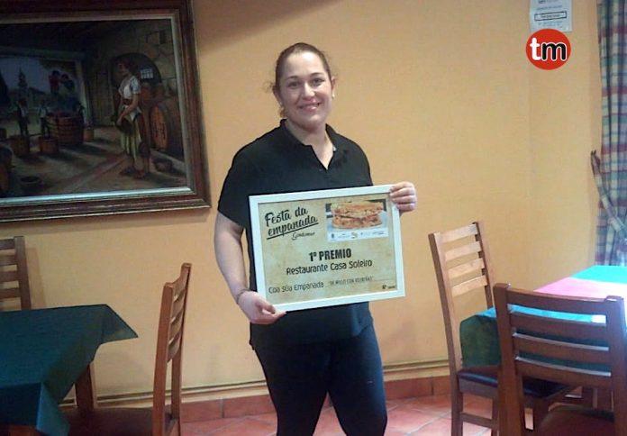 "La empanada ""Millo con xoubas"" de Casa Soleiro gana el concurso de la VI Festa da Empanada de Gondomar"