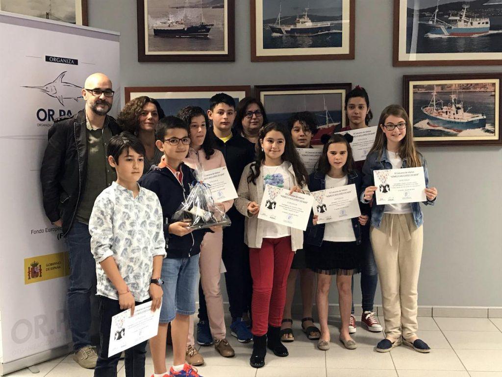 Igor Álvarez, de 11 años, gana el premio de relato infantil organizado por Orpagu