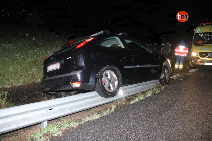 El pavimento deslizante pueden estar detrás de un aparatoso accidente en Sabarís