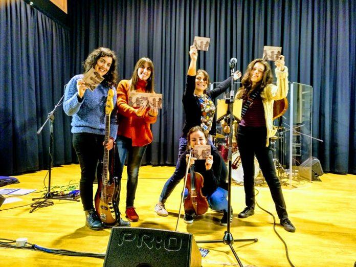 A Banda da Loba presenta o seu novo disco en Gondomar