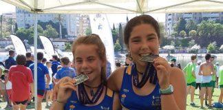 Medalla de plata para el Club Remo Tui en el Campeonato de España de Remo Olímpico