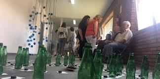 """El pabellón de Panxón acoge la exposición """"El agua de la vida"""""""