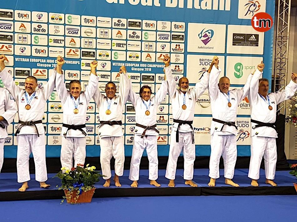 El jefe de la Policía Local de Baiona, bronce en el Campeonato de Europa Judo Veterano