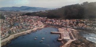 Exposición fotográfica aérea sobre A Guarda en el centro cultural