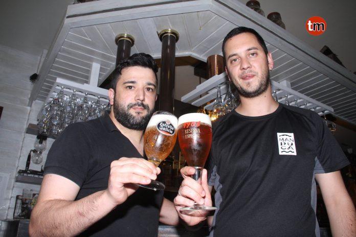 Dos baioneses participarán en el VI Concurso de Tiraje de Cerveza Estrella Galicia