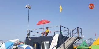 Playa América y Panxón, abiertas al público