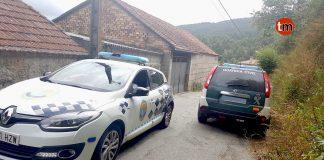 Detenido en Tui por un presunto delito de violencia de genero y tras atrincherase en su casa con una pistola