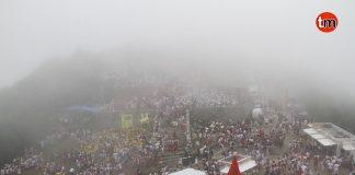 Ni el mal tiempo puede con las Festas do Monte