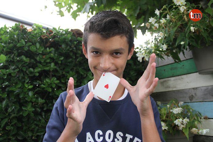 Luca, el niño mago de A Ramallosa