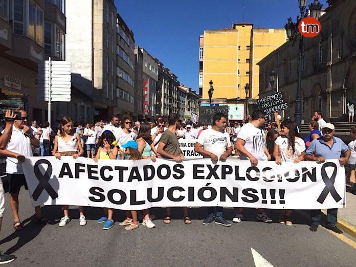 Vecinos de Paramos salen a la calle para pedir soluciones