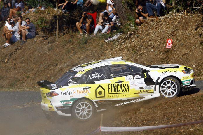 Segunda plaza para Alberto Meira en el Rally Botafumeiro