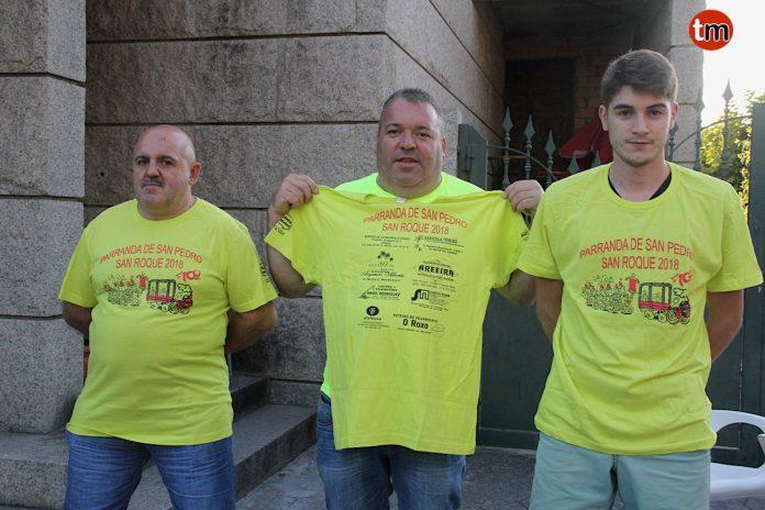 A la venta las camisetas de la parranda de San Pedro