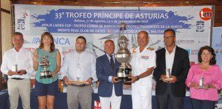 El Trofeo Príncipe de Asturias suelta amarras en Baiona