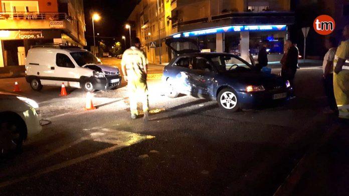 Dos técnicos y un jugador del Gondomar CF heridos en un accidente de tráfico