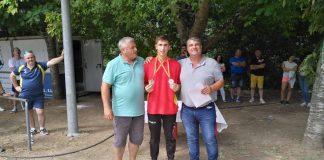 Más de 55 jugadores participaron en el campeonato de España de bolo celta en NIgrán