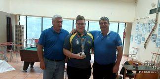 Camos acogió el campeonato de España juvenil de bolo celta