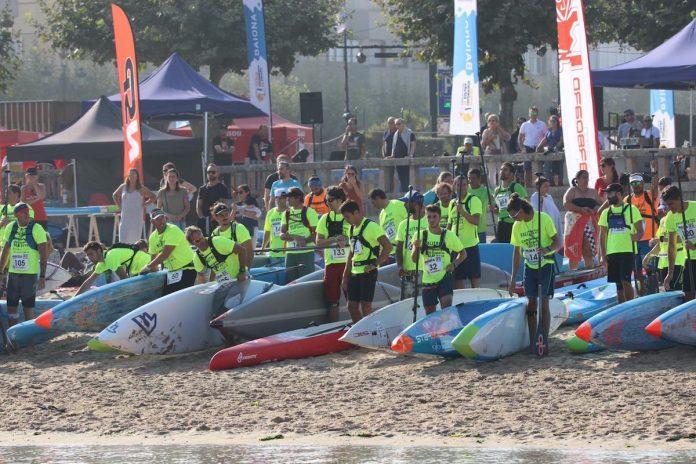 Pablo Ania y Laura Quetglas, Campeones Larga Distancia en el Campeonato de España de Paddle Surf