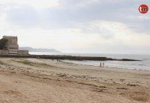 Rescatado del mar un joven en Playa América