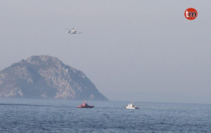 Una falsa alarma de una persona desaparecida moviliza a Salvamento Marítimo en la costa de Baredo