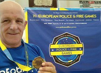 Plata para el judoca tudense Lino Martínez en los Campeonatos de Europa para policías y bomberos