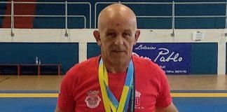 Tres medallas para el tudense Lino Martínez en los Juegos Europeos de Policías y Bomberos