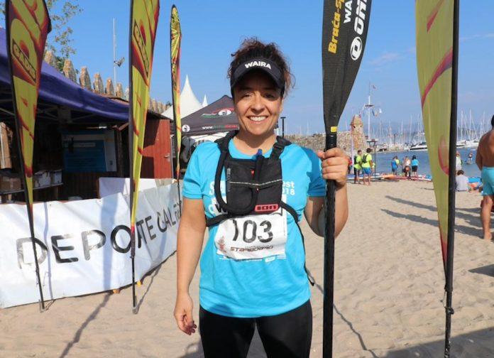 Marta Abruñedo gana el Torneo 525 Aniversario da Arribada de Paddle Surf