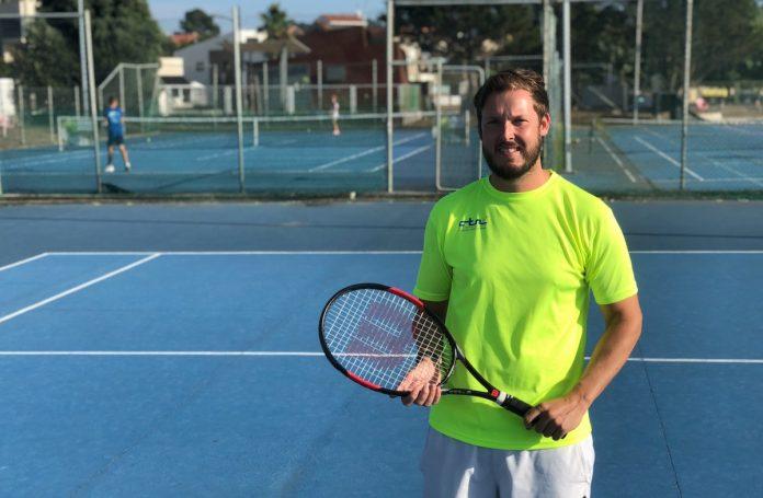 Pablo Romero, nuevo coordinador del Club Tenis de Nigrán