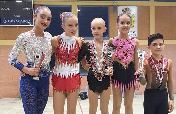 Una plata y dos bronces para el Club Patinaxe Gondomar en el Campeonato Gallego