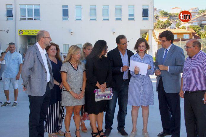 La Xunta finaliza la pavimentación del CPI Cova Terreña