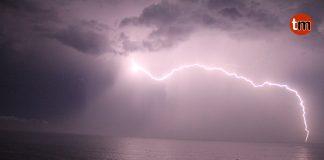 Cientos de rayos golpean O Baixo Miño y O Val Miñor