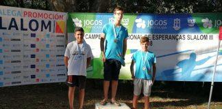 "Diez medallas para ""Os Teixugos"" de Tomiño en la III Taça Ponte da Amizade de Slálom"