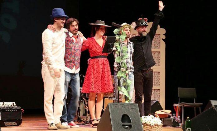 Espectáculo musical en el Teatro Municipal de Tui