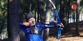 El autismo no impide que un niño godomareño sea campeón de Galicia de tiro con arco
