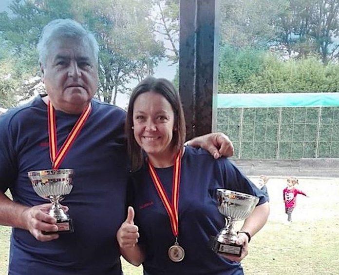 La baionesa Blanca Lago y el Gondomareño José Rodríguez, subcampeones de España de bolos celta
