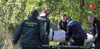 Hallan el cadáver de un octogenario en un rio de Gondomar