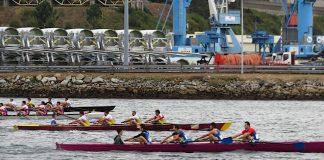 Lluvia de medallas para el Club Remo Tui en el Cto. Gallego de yolas y trofeo cidade de Ferrol