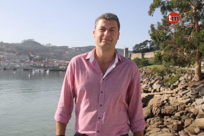 Carlos Gómez, candidato del PSOE a la alcaldía de Baiona