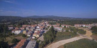 Rematan a primeira fase das obras da nova avenida-variante de Tomiño