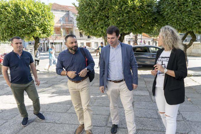 El Secretario Xeral de los socialistas gallegos visita Gondomar