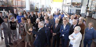 El Banco de Alimentos inaugura una nueva nave