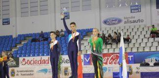 El gondomareño Joel Ribeiro, plata en el campeonato de España de Patinaje Artístico