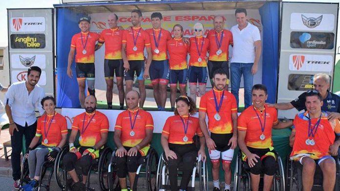 La baionesa Mila López ganó la Copa de España de Ciclismo Adaptado
